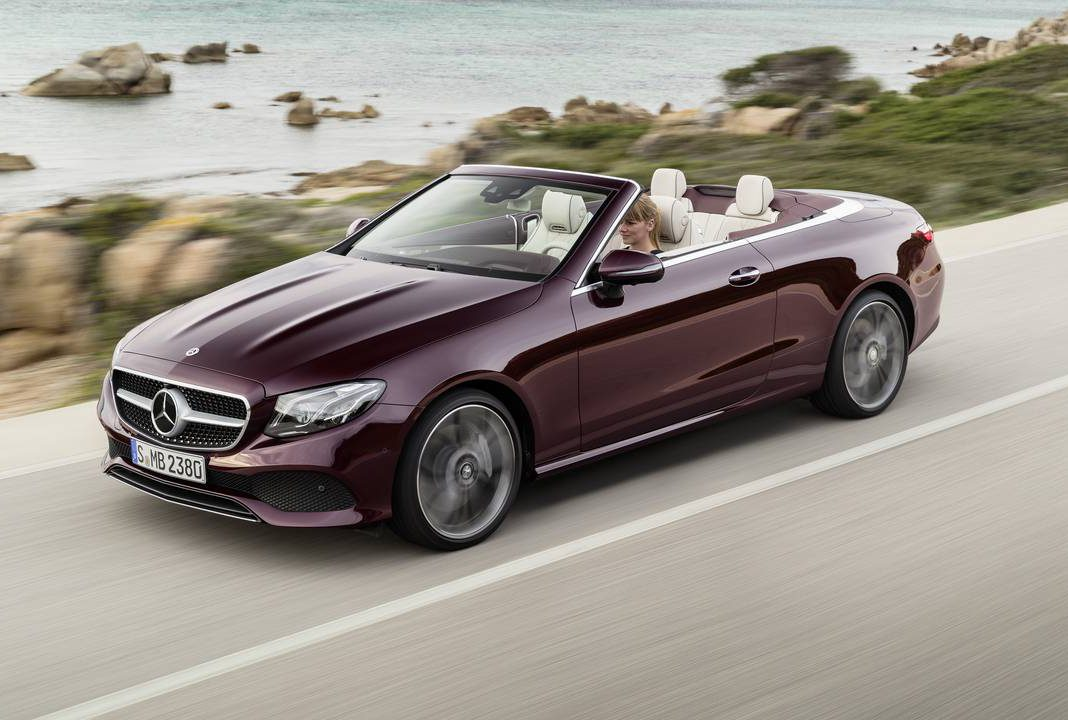 Mercedes Benz E Cl Cabriolet Breaking