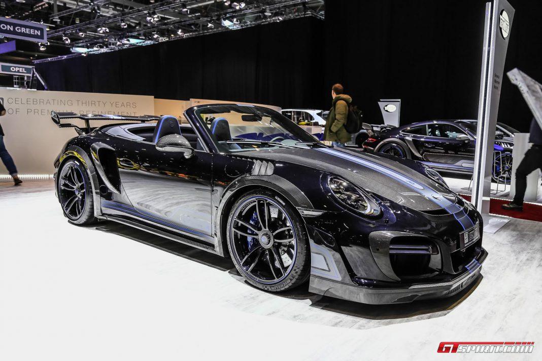 Techart GTstreet at Geneva Motor Show 2017