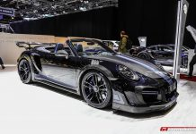 Techart GTstreet at Geneva Motor Show 2017