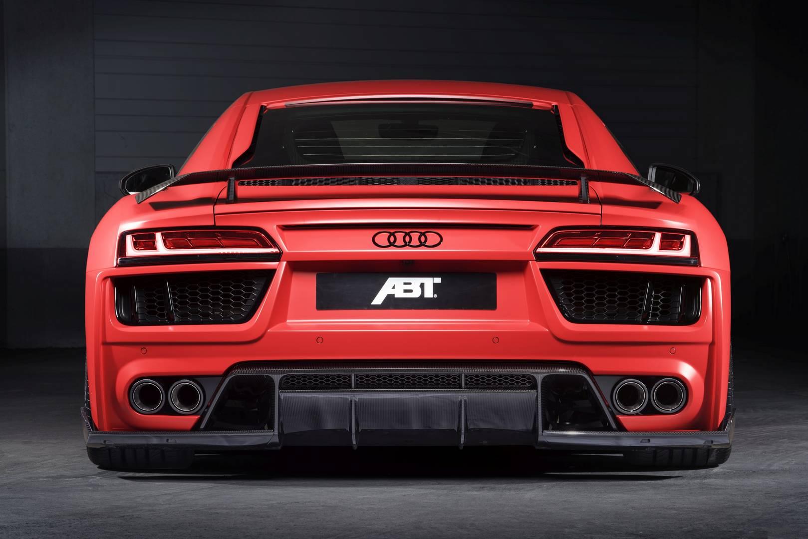 Official 2017 Abt Audi R8 V10 Gtspirit