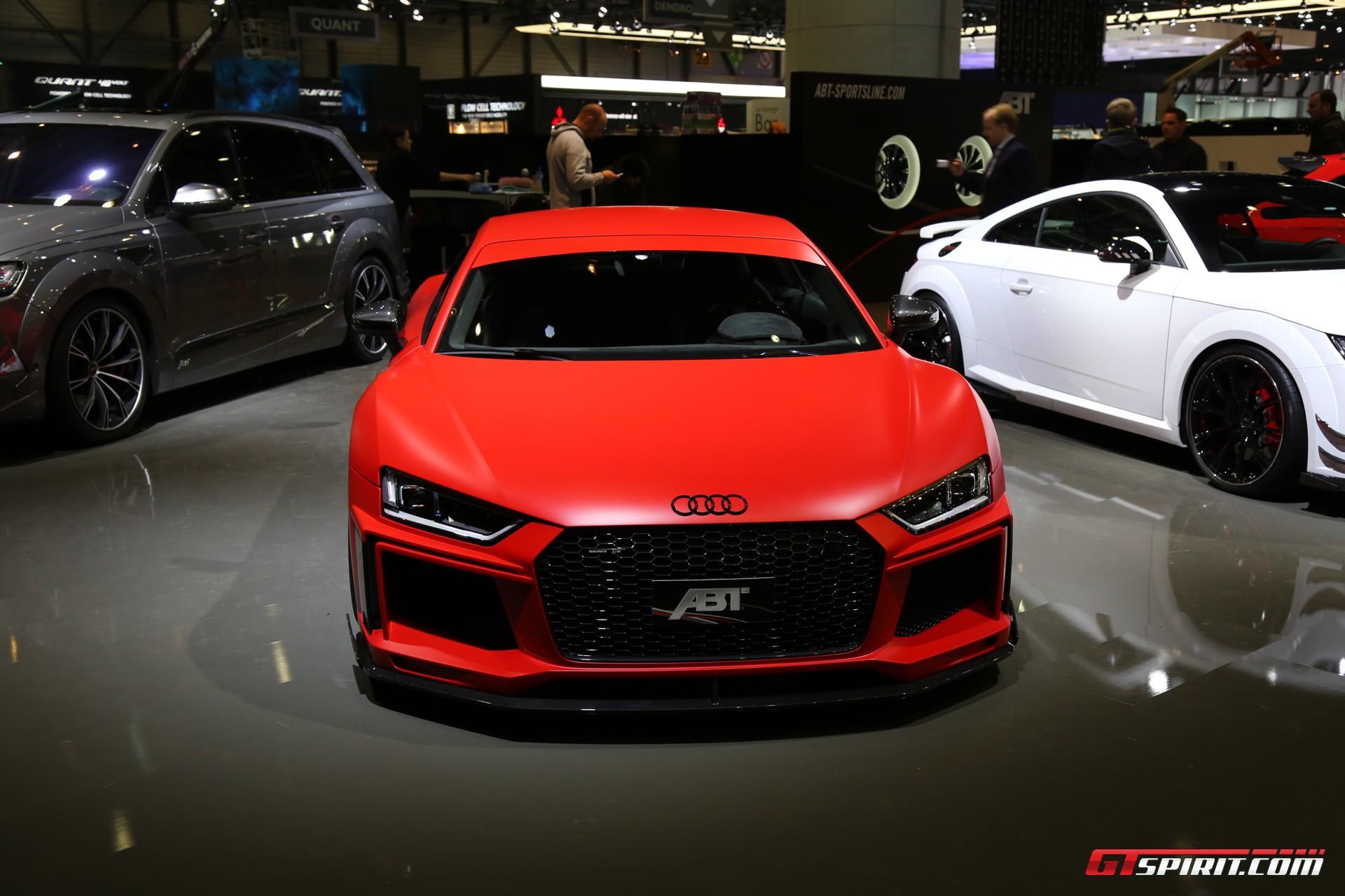 ABT Audi R8 V10 at Geneva