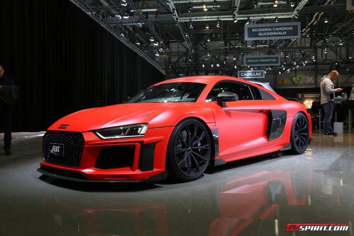 ABT Audi R8 V10 at the Geneva Motor Show 2017