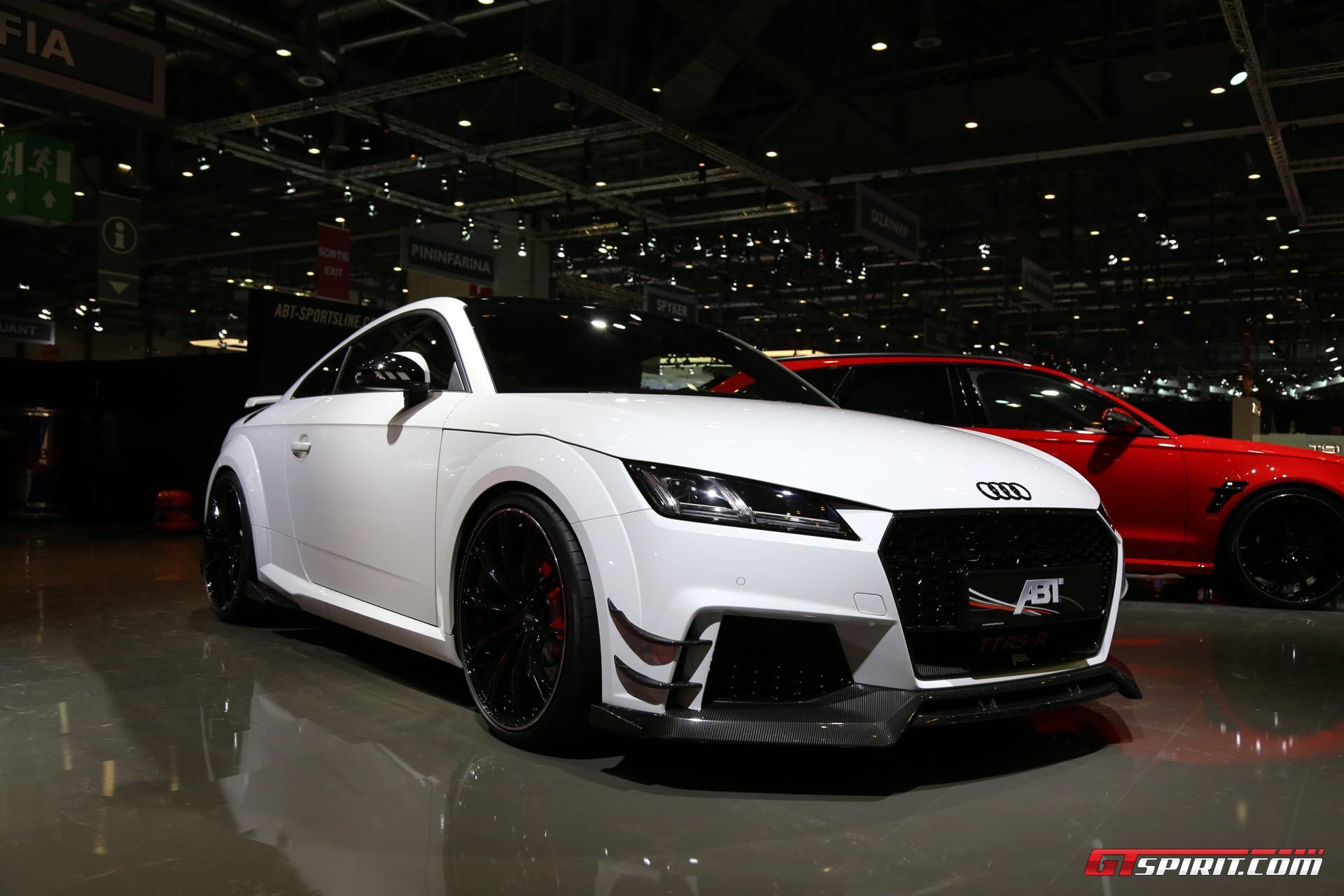 Geneva 2017 Abt Audi Tt Rs R With 500hp Gtspirit