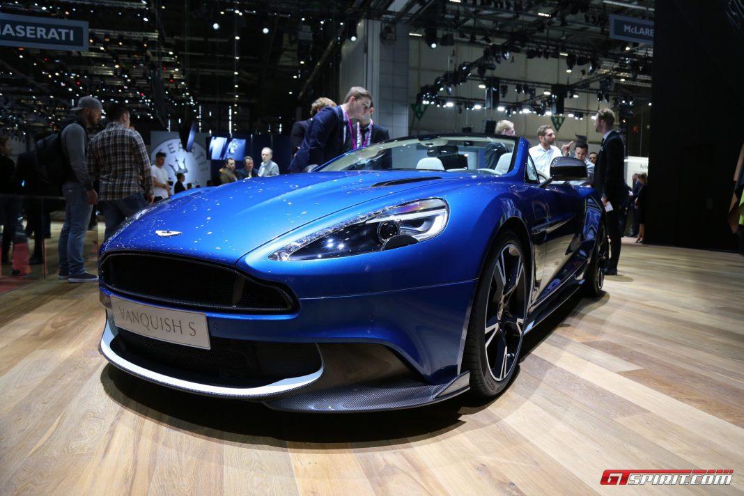Aston Martin Vanquish S Volante at Geneva 2017
