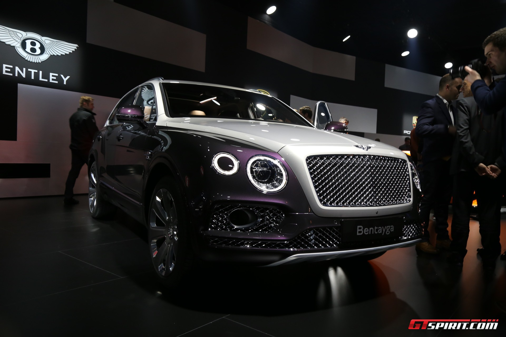 Bentley Bentayga Mulliner at Geneva