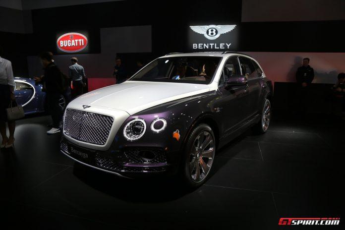 Bentley Bentayga Mulliner at Geneva