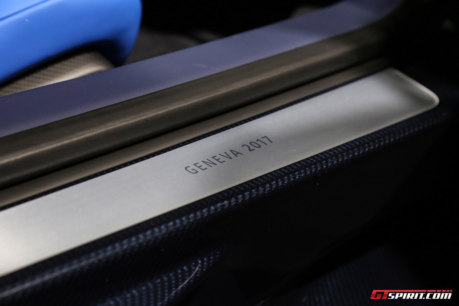 Bugatti Chiron at Geneva