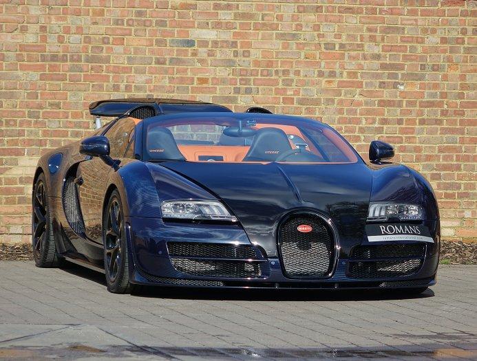 blue carbon bugatti veyron gs vitesse for sale at £2,395,000 - gtspirit