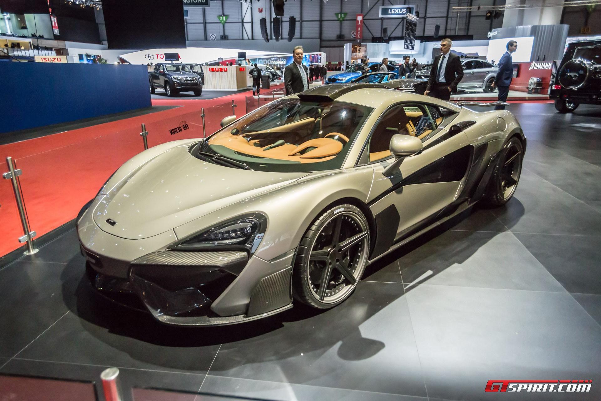 FAB Design Viyala McLaren 570S at Geneva 2017