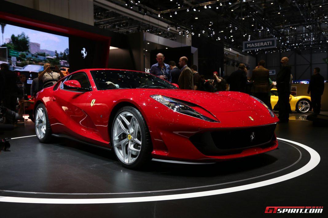 Ferrari 812 Superfast at the Geneva Motor Show 2017