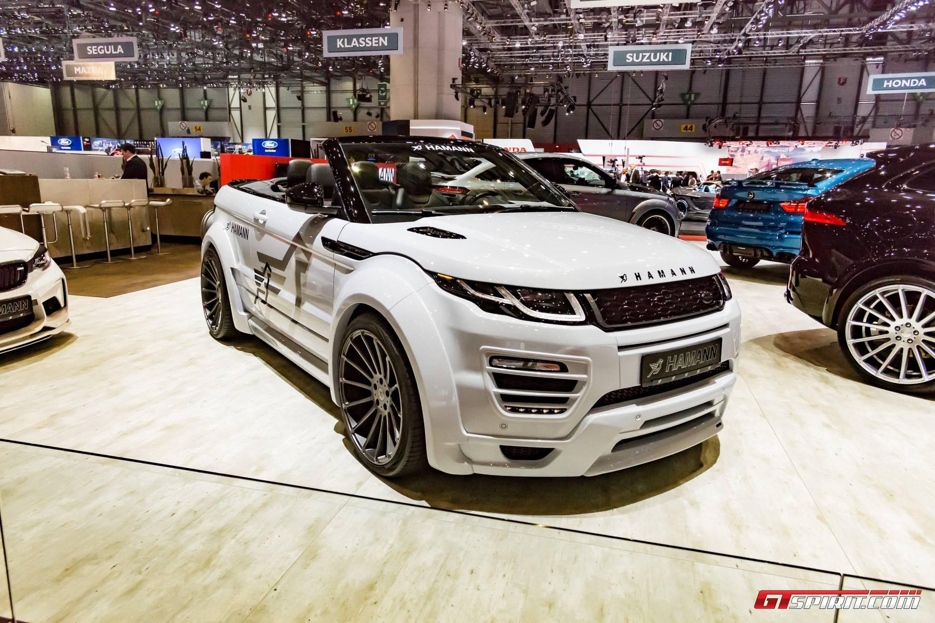 Geneva 2017 Hamann Range Rover Evoque Convertible