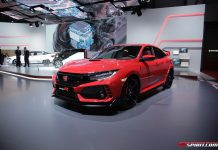 Honda Civic Type R at Geneva 2017