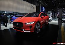 Jaguar I-Pace at Geneva 2017