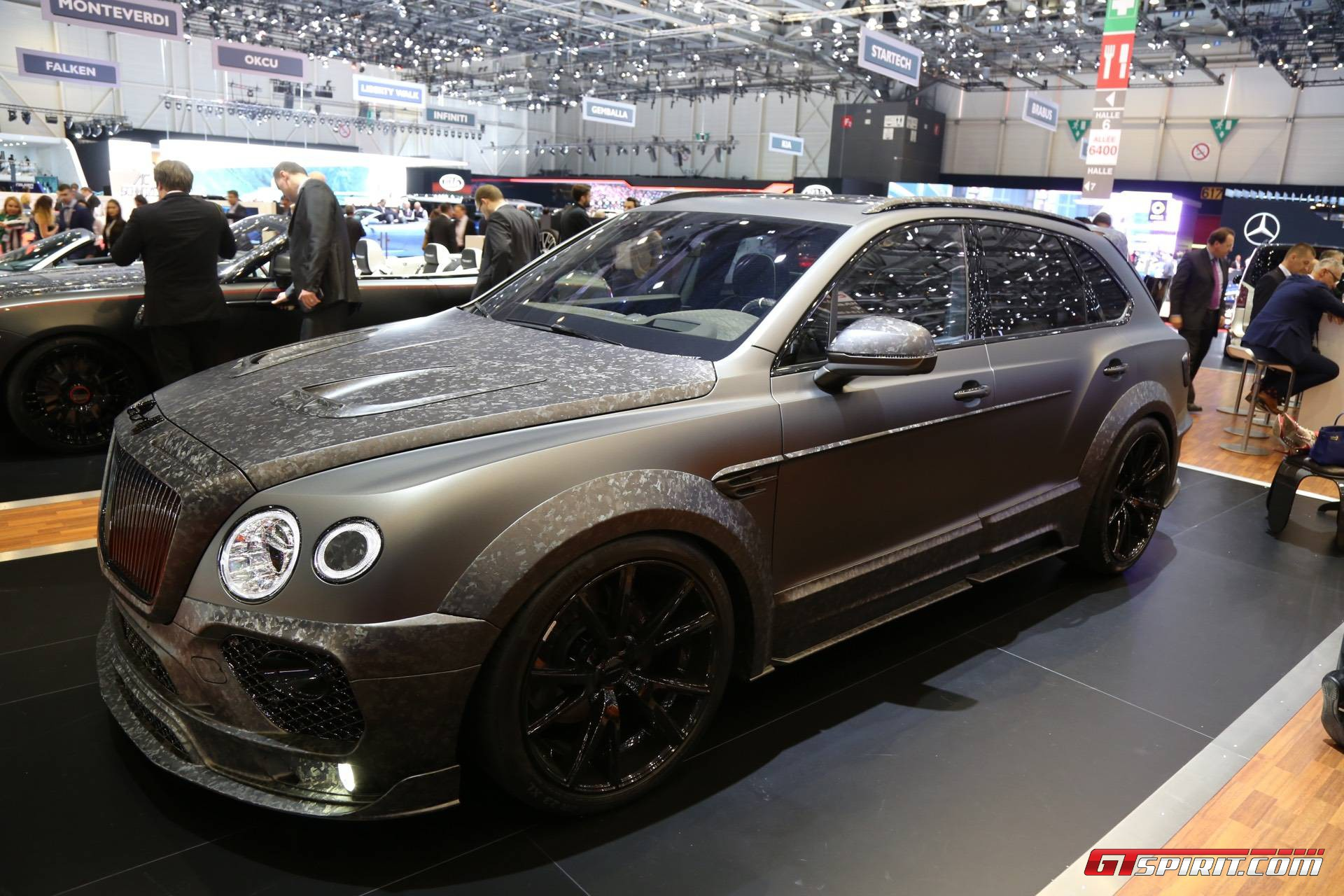 Geneva 2017 Mansory Bentley Bentayga Black Edition Gtspirit