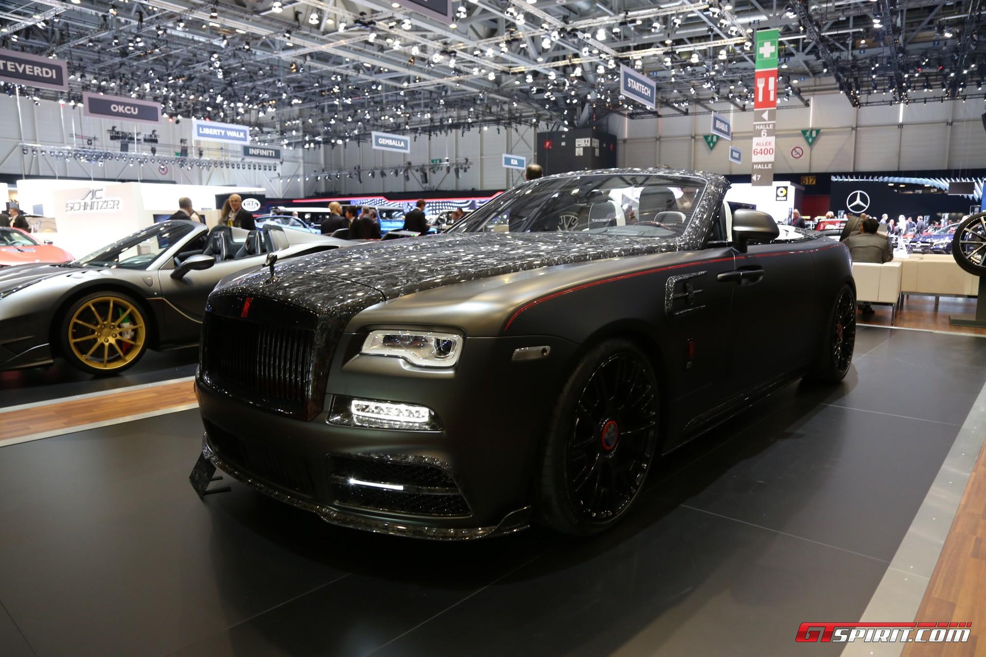 Mansory Rolls-Royce Dawn at Geneva 2017