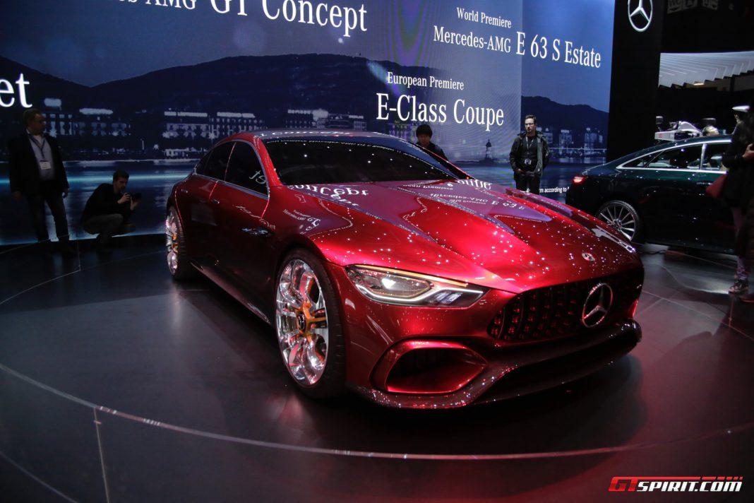 Mercedes-AMG GT Concept at Geneva 2017