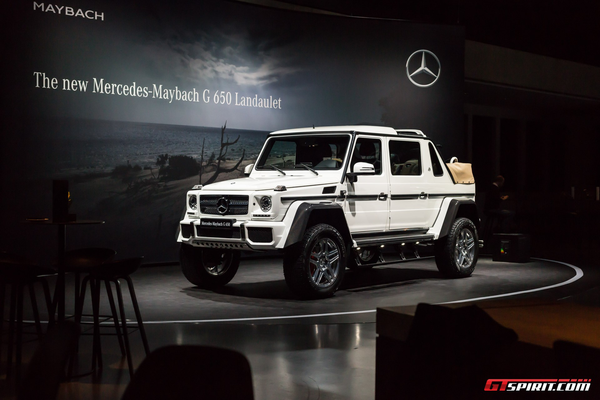 Mercedes-Maybach G650 Landaulet Geneva 2017