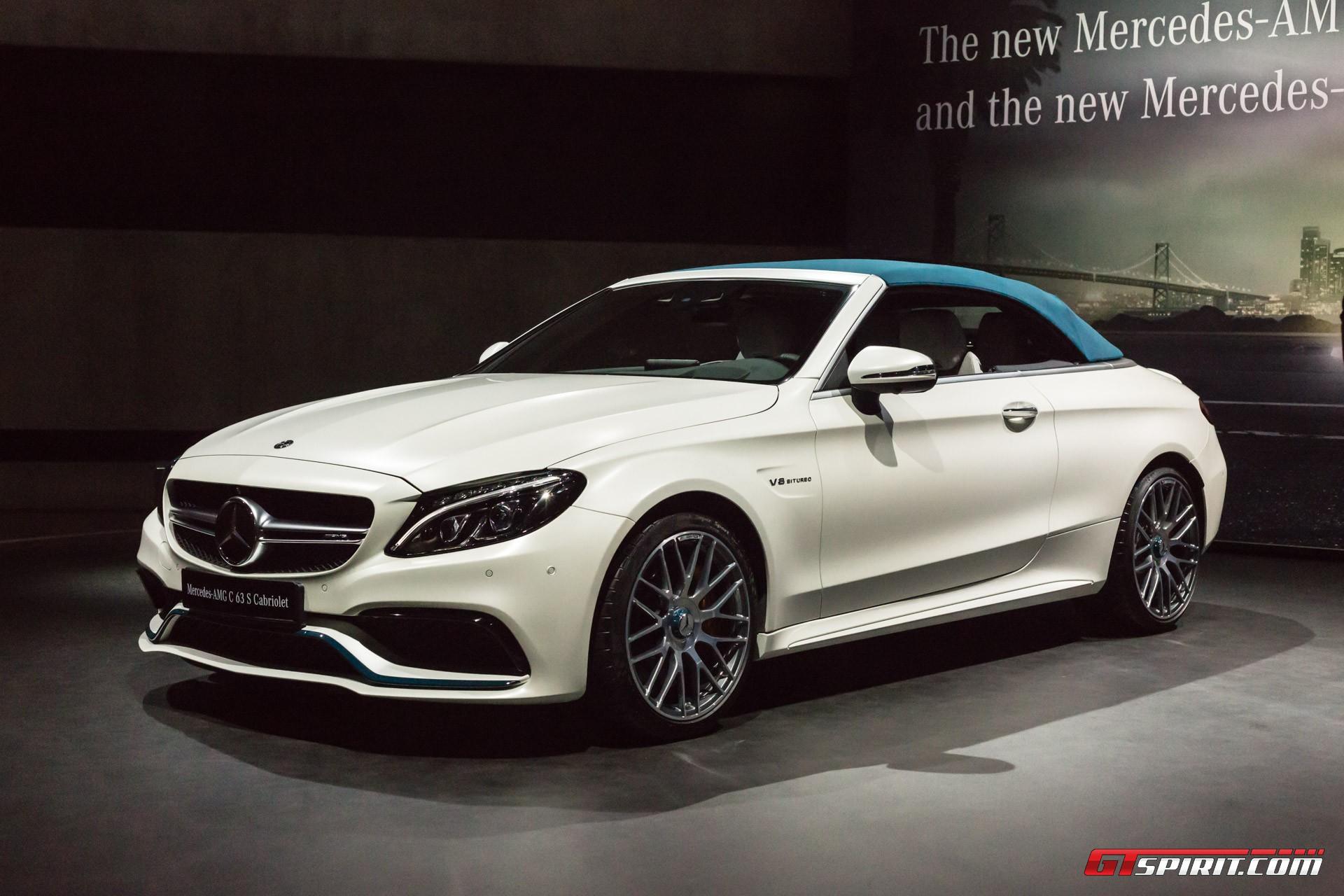Mercedes-Benz AMG C63 S Ocean Blue Edition Geneva 2017