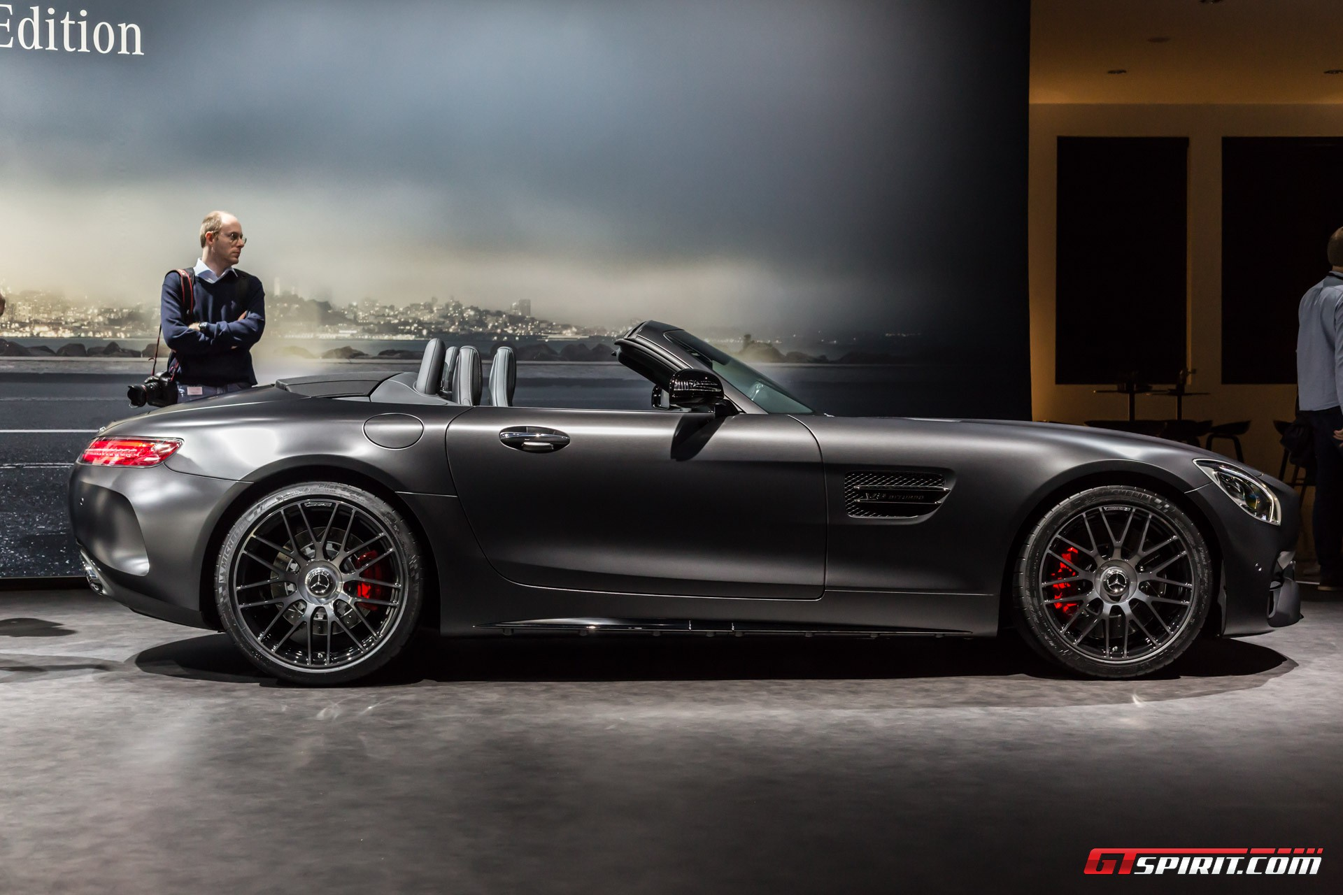 Mercedes-Benz AMG GT C Roadster Edition 50 Geneva 2017