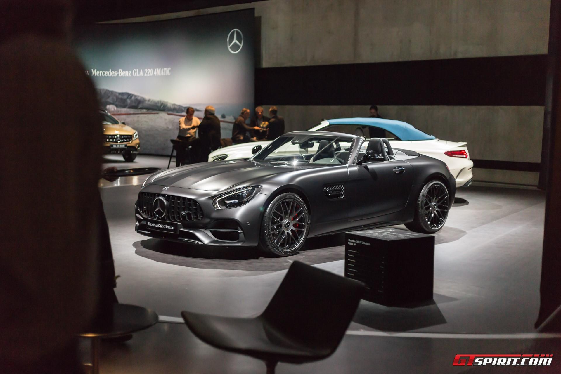 Geneva 2017 Mercedes Amg 50th Anniversary Editions Gtspirit