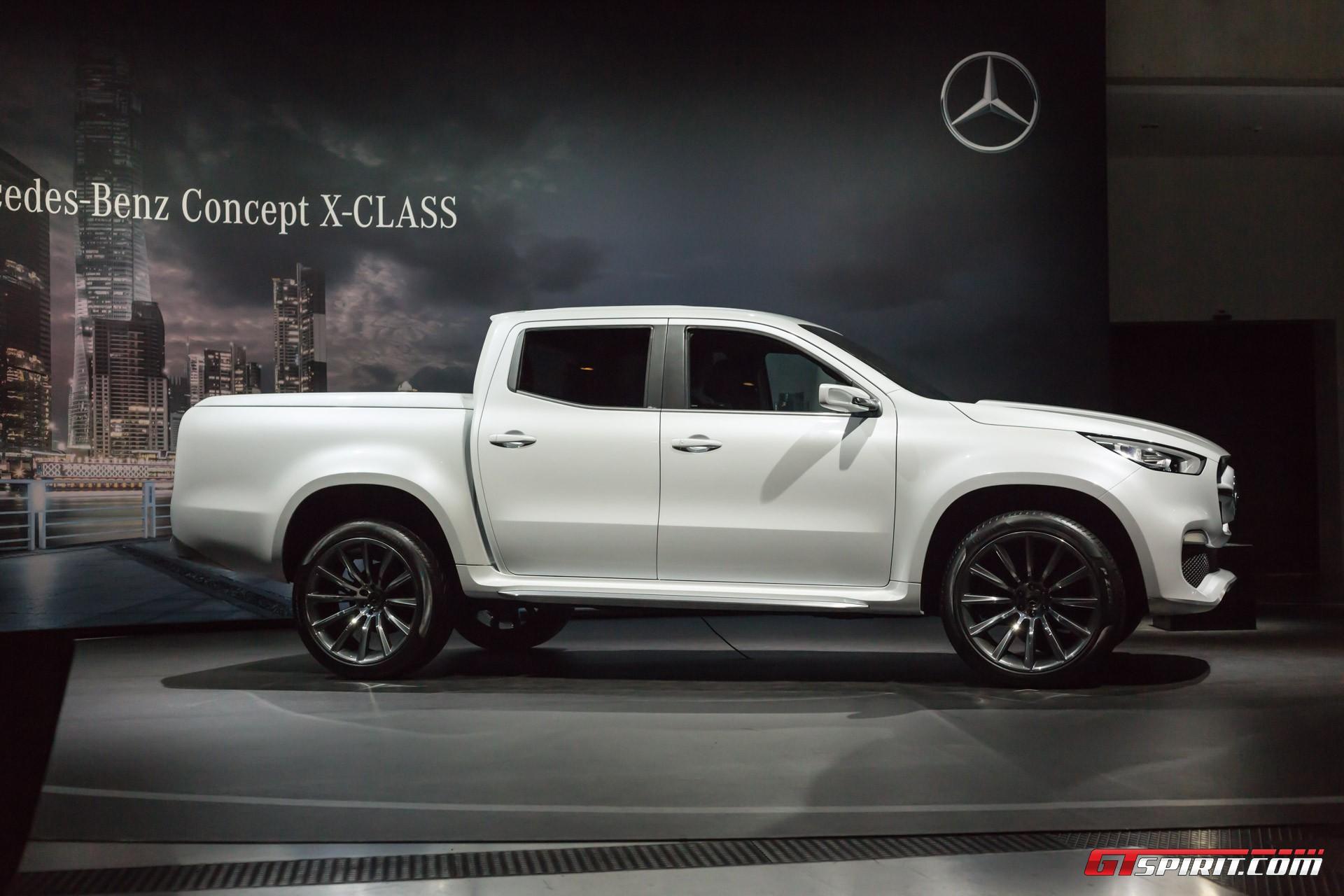 Mercedes-Benz X-Class Concept at the Geneva Motor Show 2017