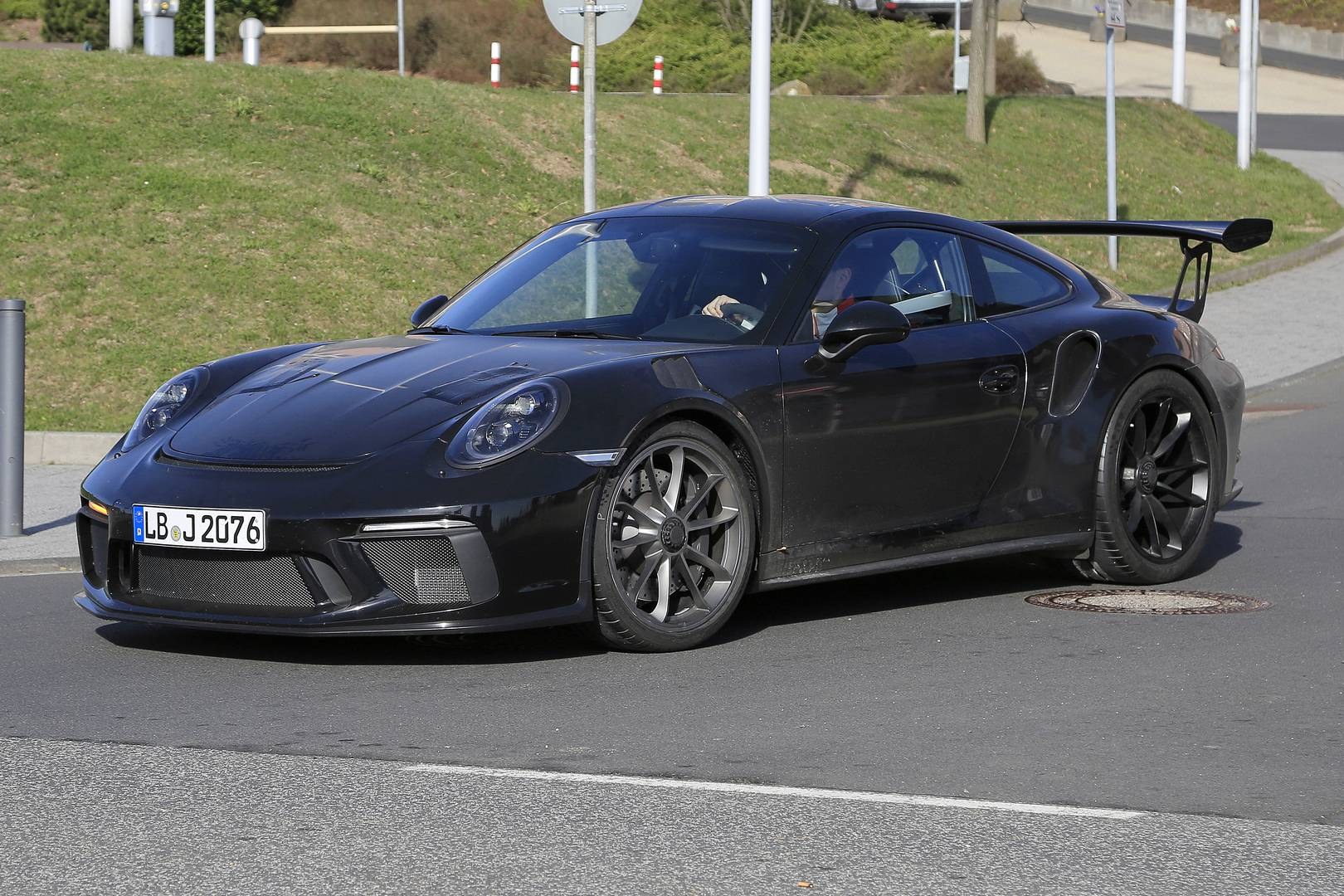 2019 Porsche 911 GT3 RS '4.2' Latest Spy Shots - GTspirit