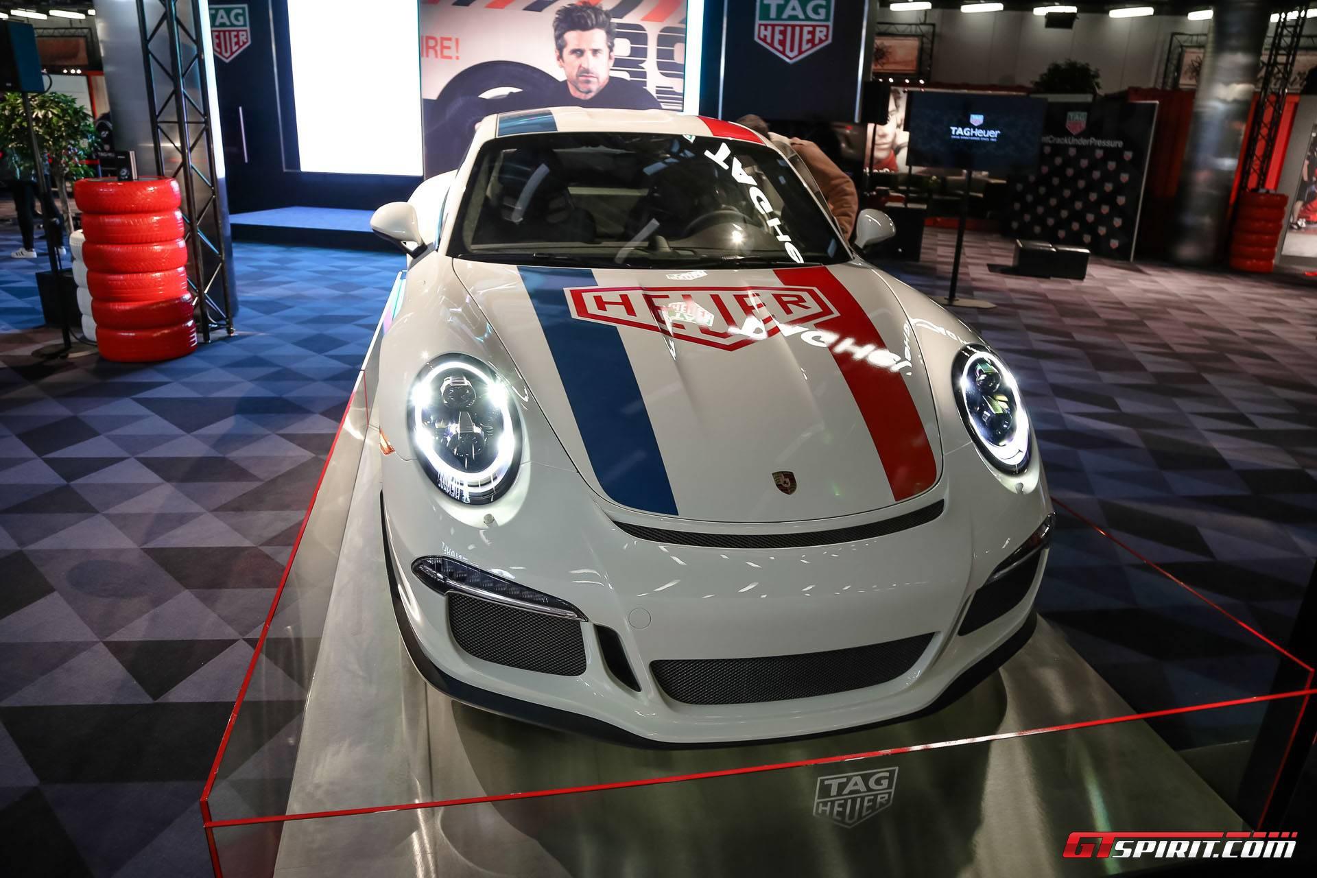 Geneva 2017 Porsche 911 R By Tag Heuer