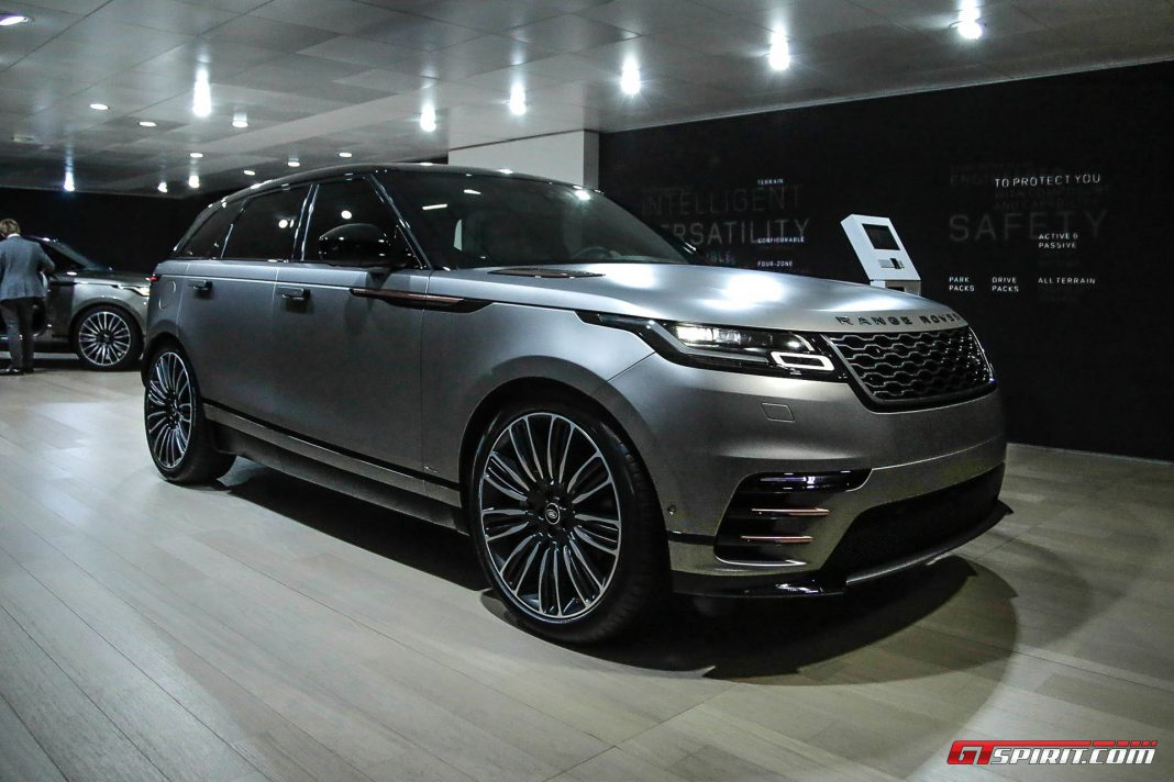 Range Rover Velar at the Geneva Motor Show 2017
