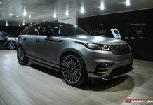 Range Rover Velar at the Geneva Motor Show 2017