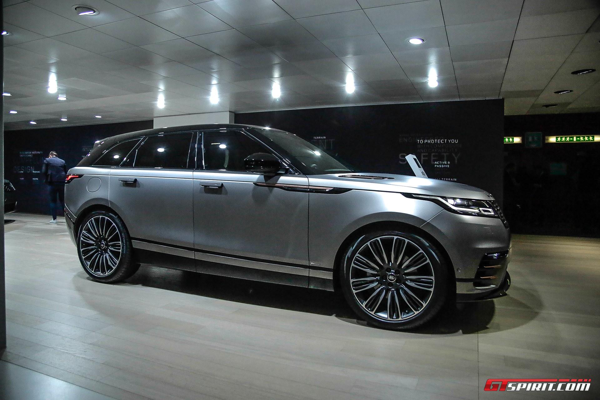 Range Rover Velar at Geneva 2017