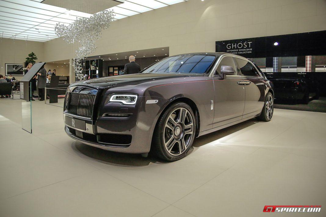 Rolls-Royce Ghost Diamonds at Geneva 2017