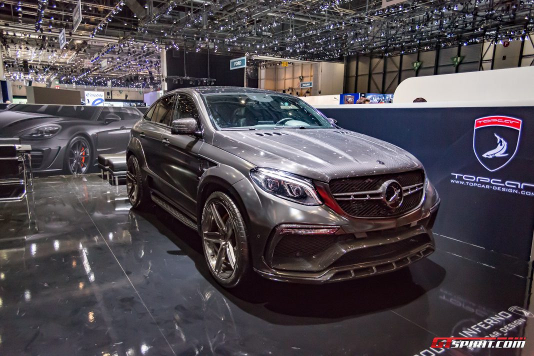 TopCar GLE Coupe Inferno at Geneva 2017