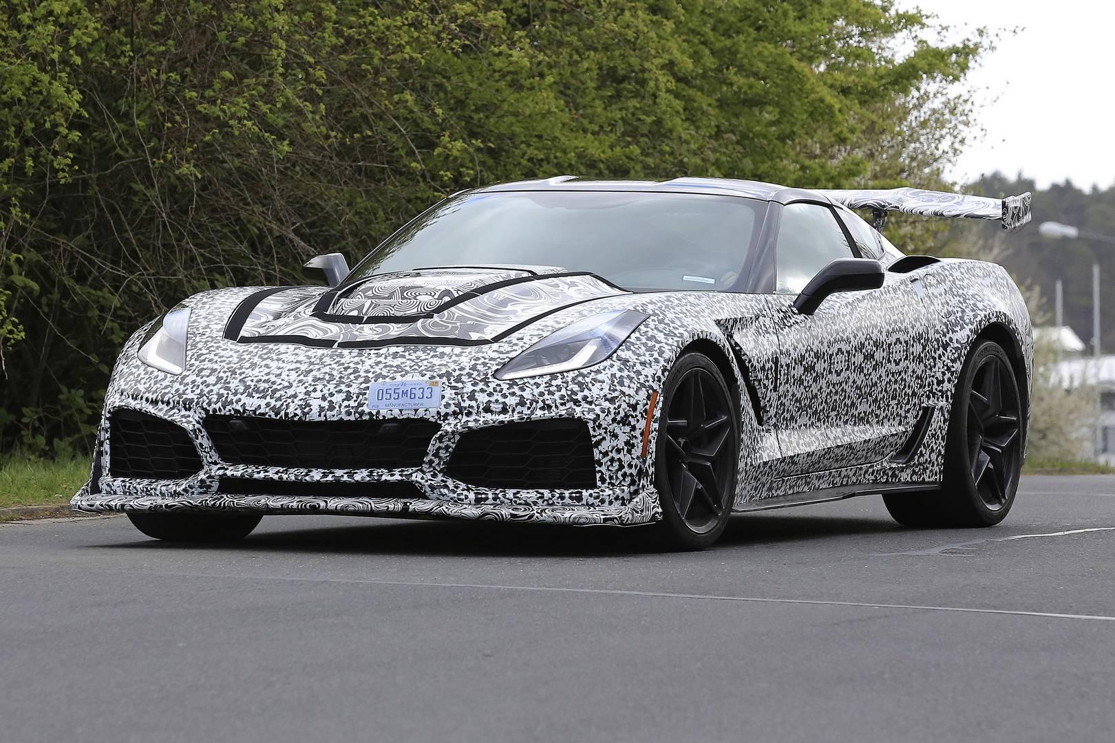 2018 Corvette ZR1 Newest Spy Shots - GTspirit