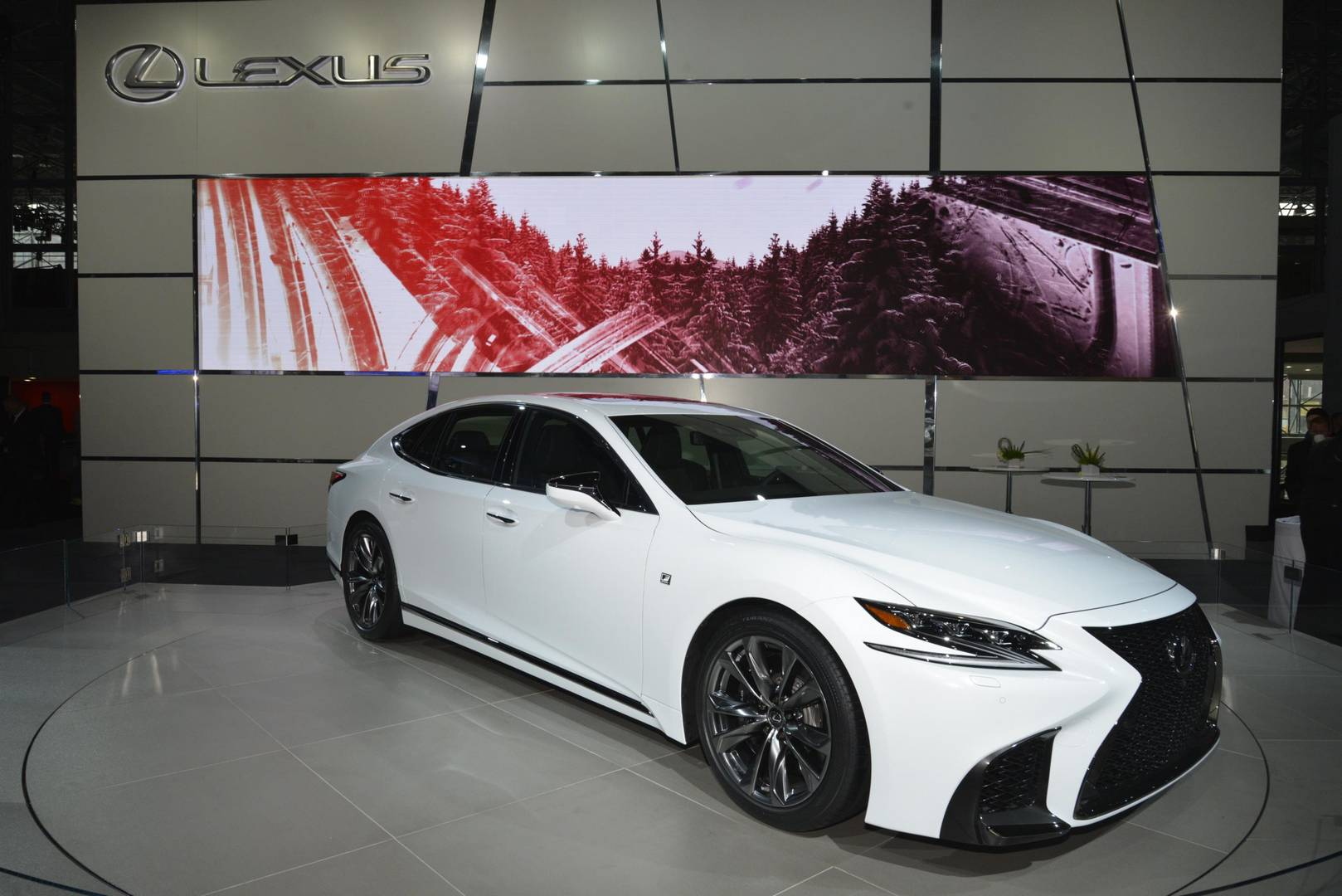 Lexus Ls F Sport 1 Of 13 Tags