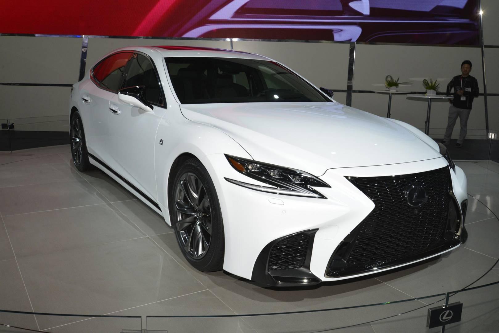 Lexus F Sport >> New York 2017 Lexus Ls F Sport Gtspirit