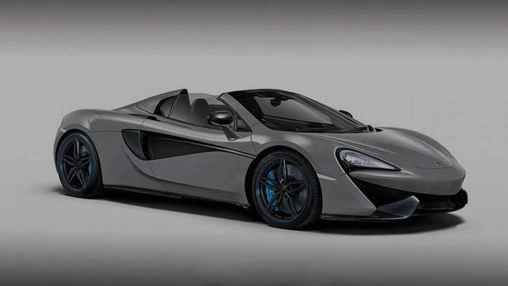 mclaren 570s spider confirmed, 540c spider ruled out - gtspirit