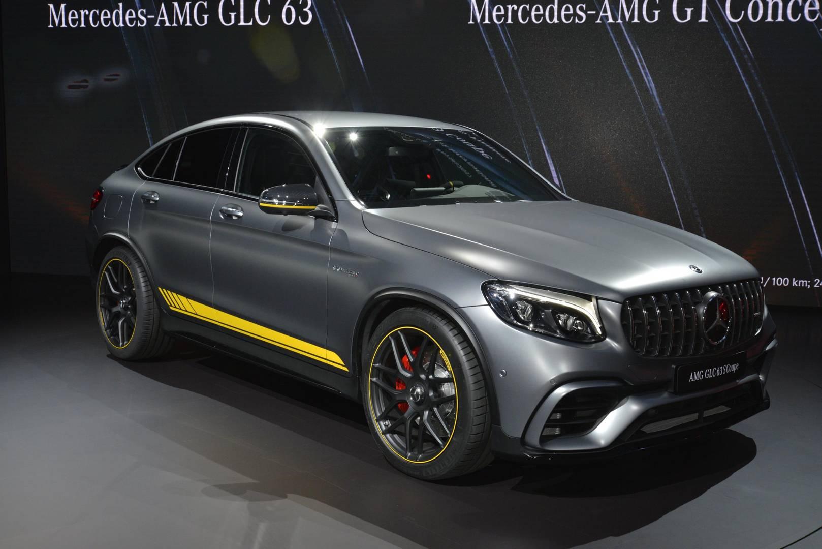 New York 2017 Mercedes Amg Glc 63