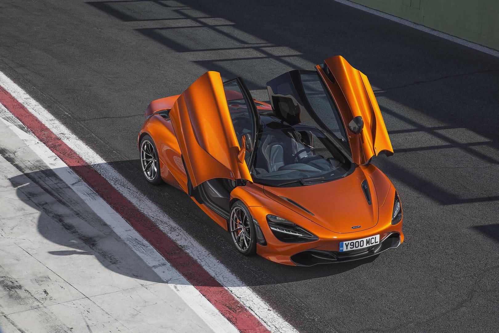 McLaren 720S Doors