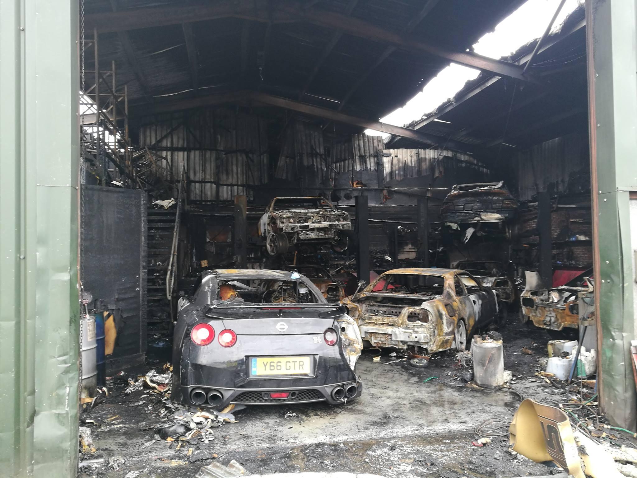 Jdm Cars For Sale >> Warehouse Full Of Jdm Cars Burns Down In The Uk Gtspirit