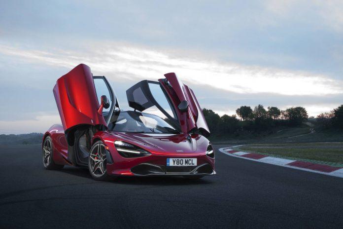 McLaren 720S Red