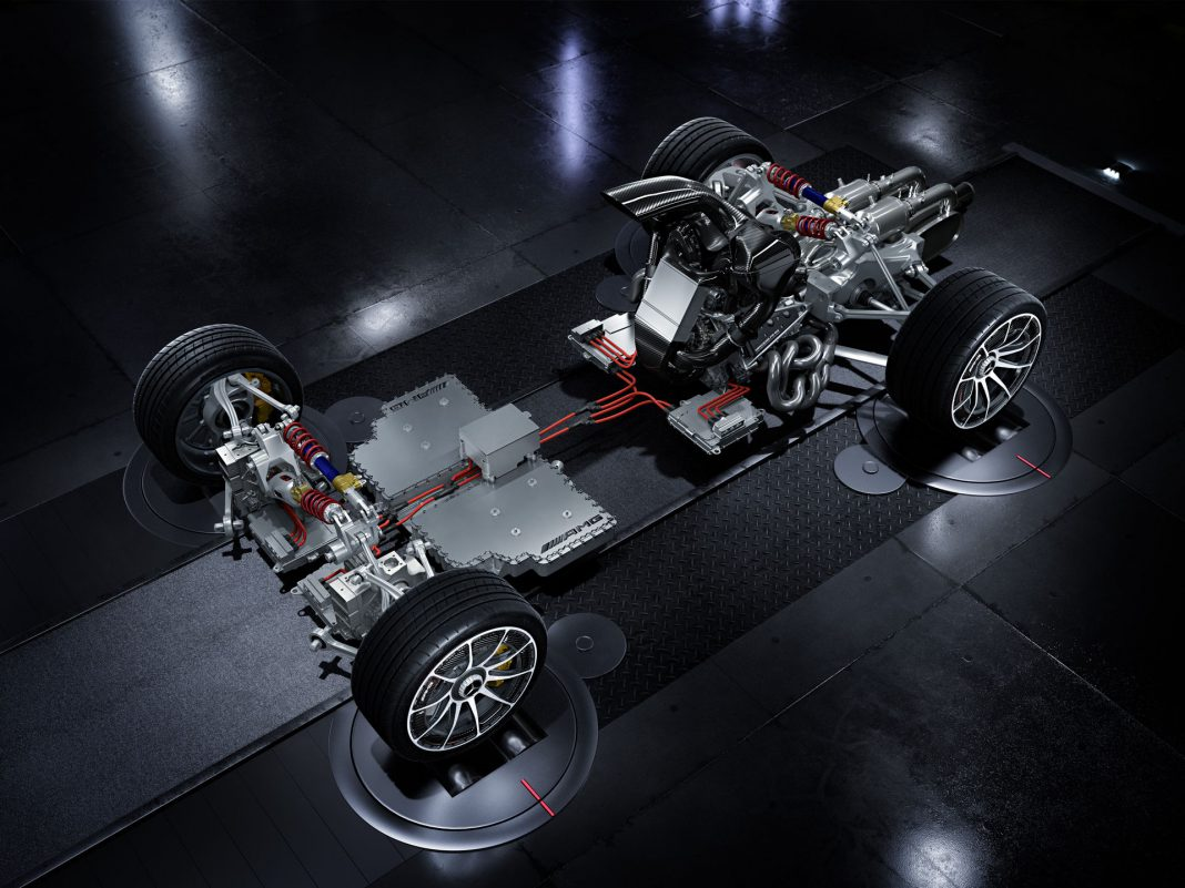 Mercedes-AMG PROJECT ONE Hypercar Drivetrain