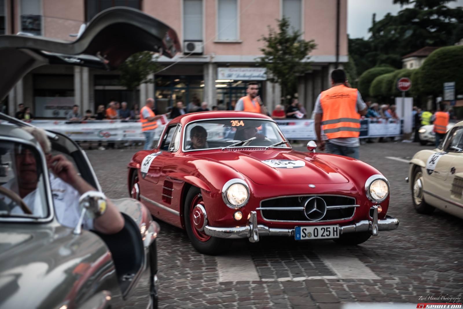 1000 Mi Miglia Voiture De Course Mercedes Benz Vehicules Miniatures