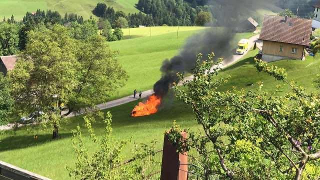 Grand Tour Presenter Richard Hammond Injured In Rimac Fire At Hemberg Hill Climb