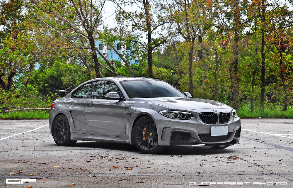 Stunning Manhart Bmw M235i With Hre Wheels