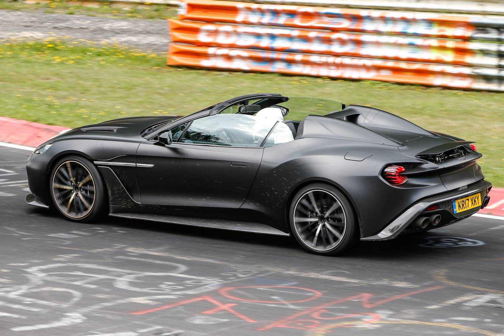 1 Of 28 Zagato Aston Martin Vanquish Speedster Seen For The First Time Gtspirit