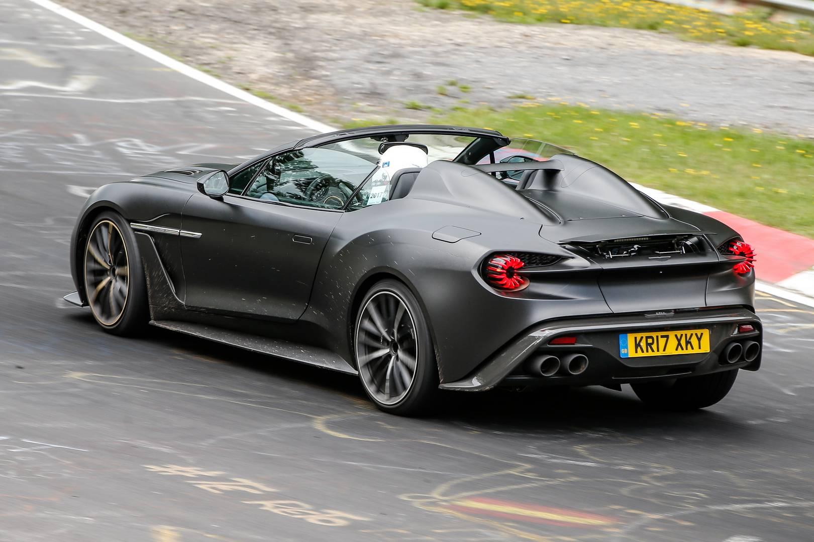 Aston Martin Vanquish Zagato Speedster Price