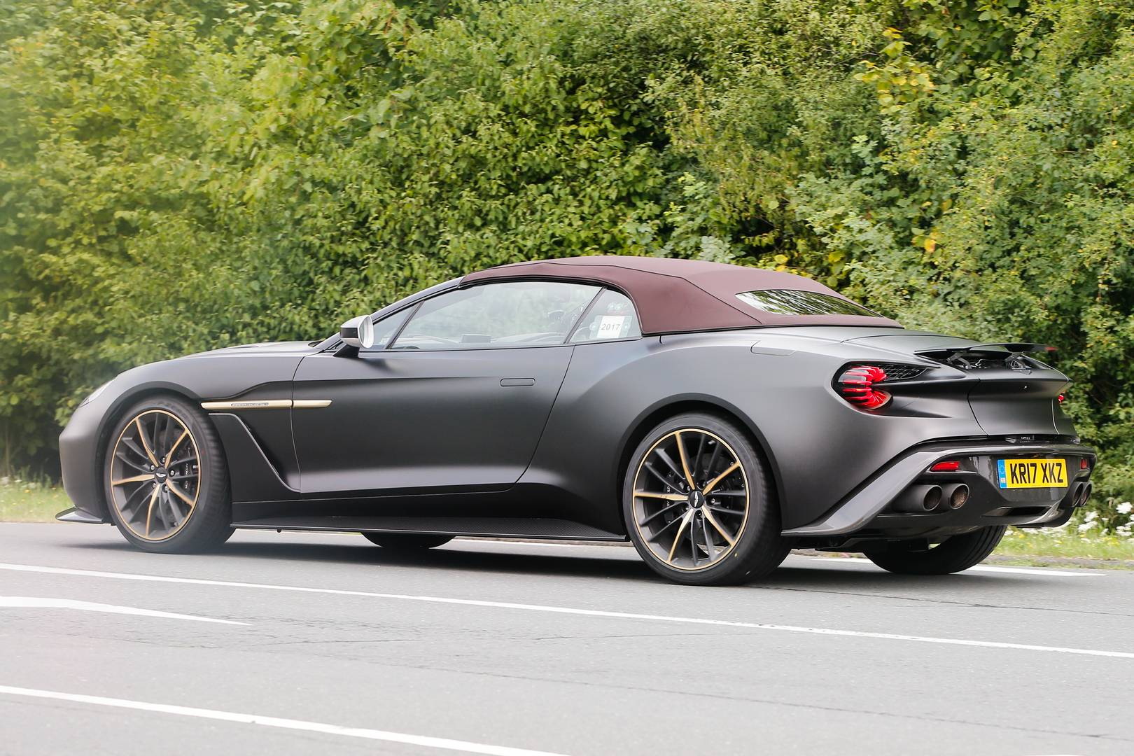 Zagato Vanquish Volante Speedster To Debut At Pebble Beach