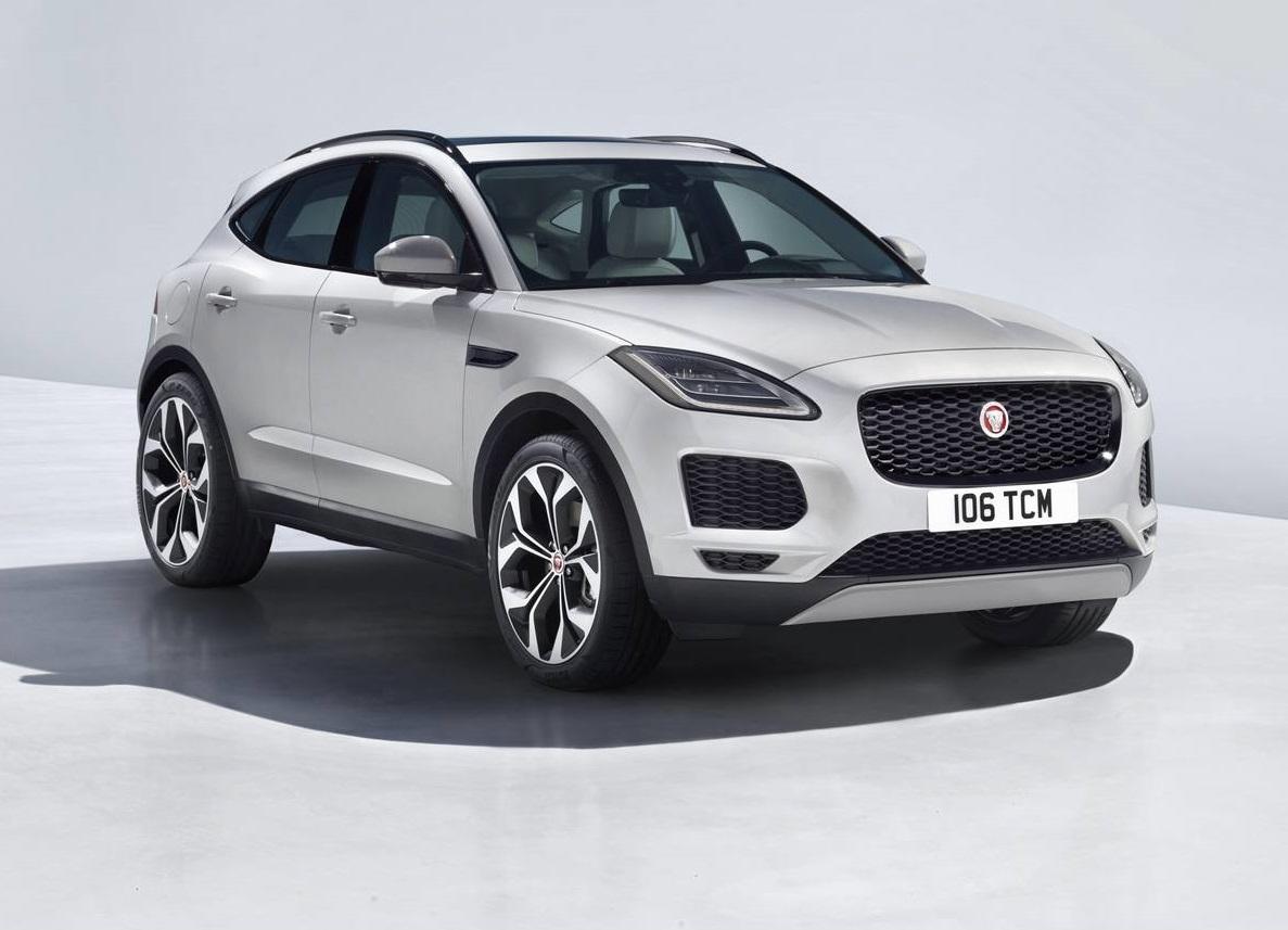 Official 2018 Jaguar E Pace