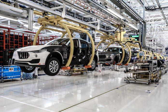 Maserati Levante Mirafiori Factory Turin