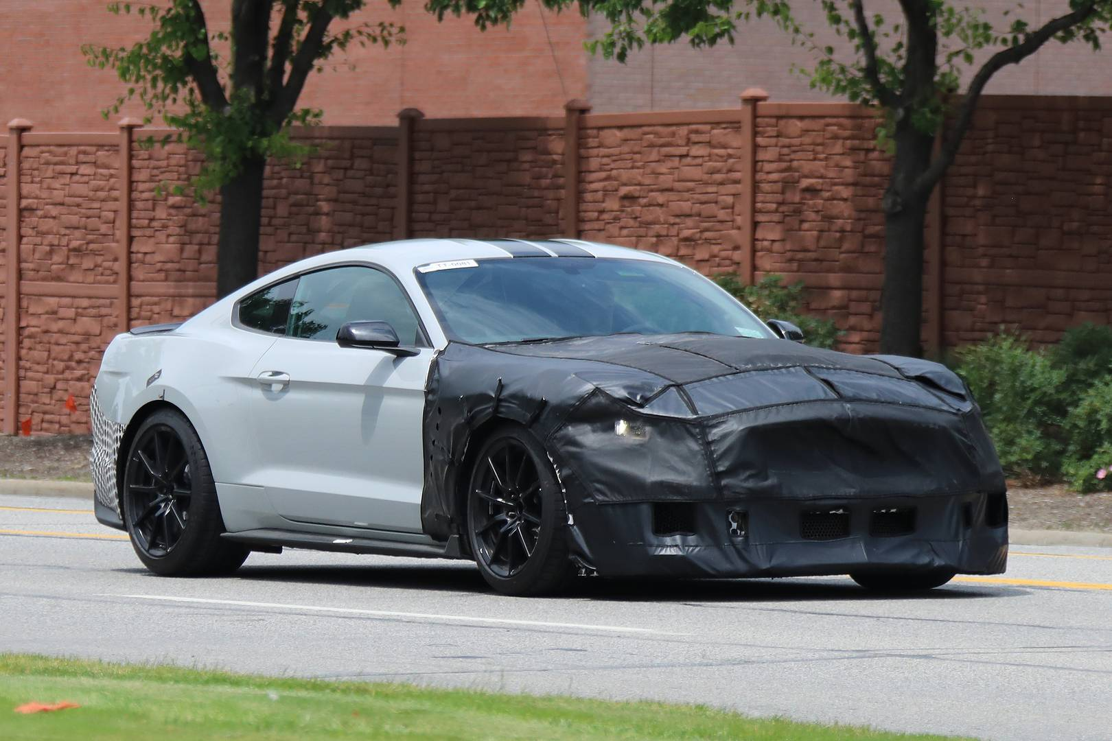 3d60da6890 2019 Ford Mustang Shelby GT500 Spy Shots Emerge - GTspirit
